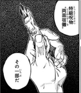 特級呪物 両面宿儺の指